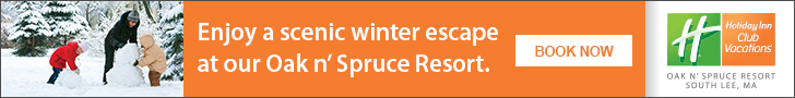 Enjoy a Scenic Winter Escape at Oak & Spruce Resort - a Holiday Inn Club Vacations Destination