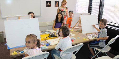 Painting Classes 500x250 - Armenian Museum of America - Watertown, MA