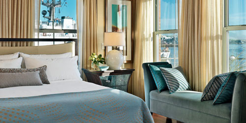 Luxury with a Great View 500x250 - Battery Wharf Boston Hotel - Boston, MA