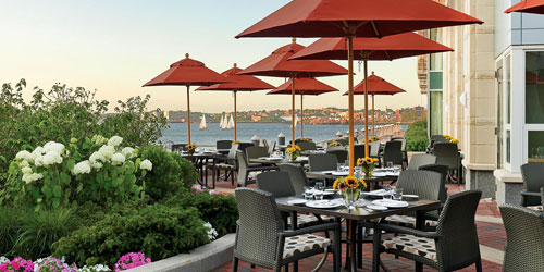 Outdoor Rooftop Dining 500x250 - Battery Wharf Boston Hotel - Boston, MA