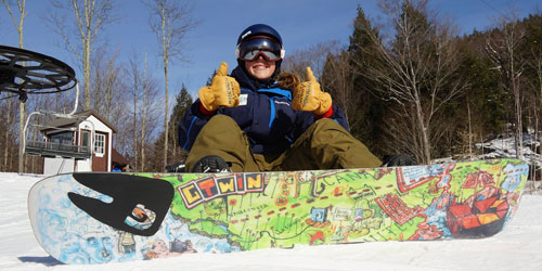 Cool Snowboard Girl 500x250 - Berkshire East Mountain Resort - Charlemont, MA