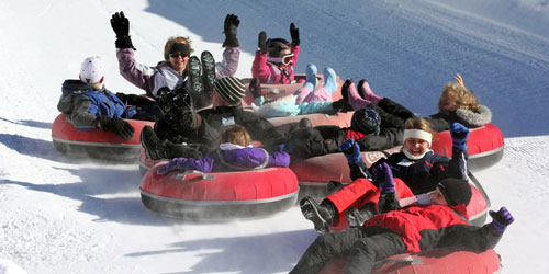 Group Tubing Fun 500x250 - Berkshire East Mountain Resort - Charlemont, MA