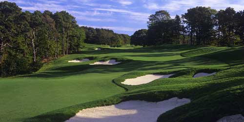 Golf Course Ocean Edge Resort & Golf Club Brewster Massachusetts