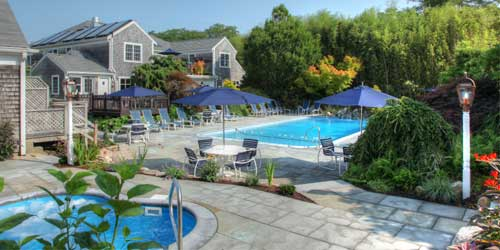 Outdoor Pool Pleasant Bay Village Resort Chatham Massachusetts