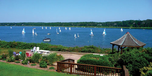 Water View & Sailboats 500x250 - The Cove on the Waterfront - Orleans, MA