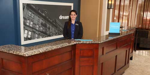 Reception Desk - Hampton Inn Boston-Natick - Natick, MA