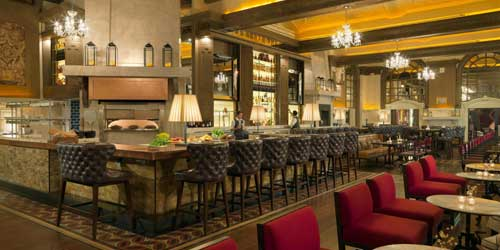 OAK Long Bar & Kitchen - Fairmont Copley Plaza Hotel - Boston, MA