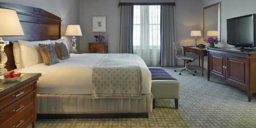 King Guestroom - Fairmont Copley Plaza Hotel - Boston, MA