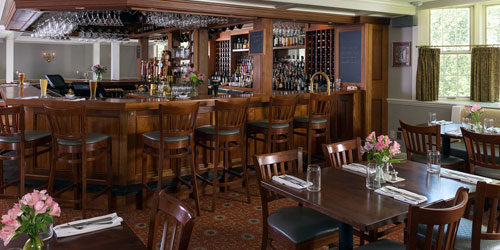 Champney's Restaurant & View of the Bar 500x250 - Deerfield Inn - Deerfield, MA