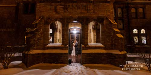 Cranwell Spa and Golf Resort Winter Weddings Lenox MA Photo Credit Tricia McCormack