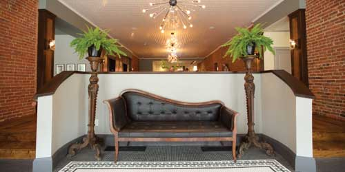 Entrance Couch - Hotel on North - Pittsfield, MA