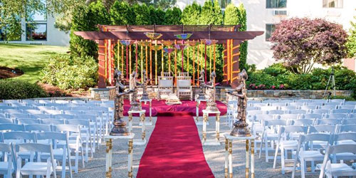 Hindu Style Wedding 500x250 - Doubletree Boston Bedford Glen - Bedford, MA