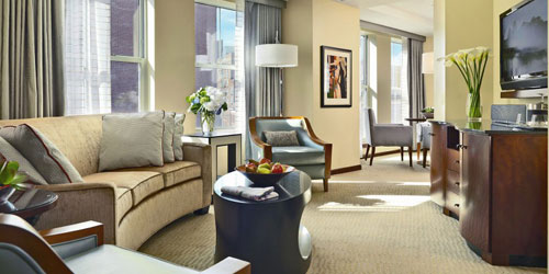 Executive 1 Bed Suite 500x250 - Battery Wharf Boston Hotel - Boston, MA