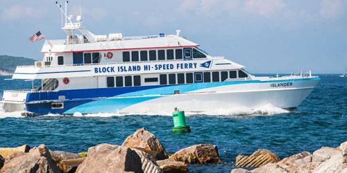 Hi-Speed Ferry 500x250 - Block Island Ferry - Narragansett, RI