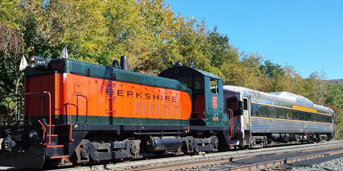 berkshire scenic railway museum in adams ma
