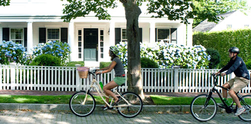 Nantucket Bike Tours Shearwater Excursions and Raven's Walk on Nantucket