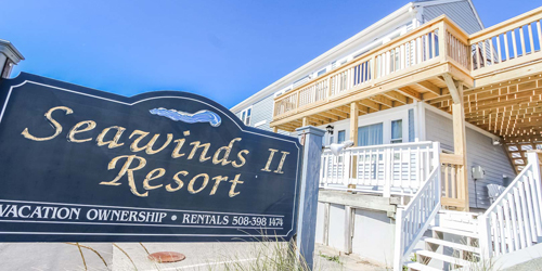 Entrance Sign - Seawinds II - Dennisport, MA