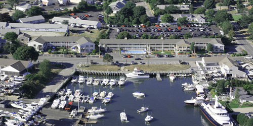 Aerial View - Innseason Resort Harborwalk - Falmouth, MA