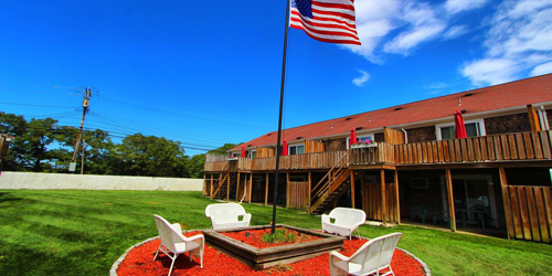 Yard Flagpole New 2019 - Cape Winds Resort - Hyannis, MA