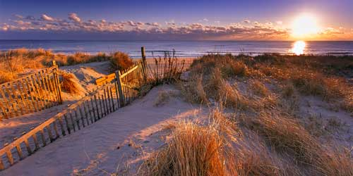 Nauset Light Beach in winter