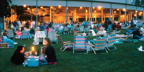 Tanglewood in the Berkshires of Massachusetts