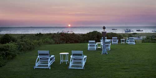 Sunset Ocean View - The Wauwinet - Nantucket, MA