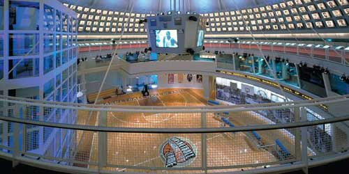 Naismith Basketball Hall of Fame in Springfield MA-credit-Explore Western Mass and Greater Springfield CVB