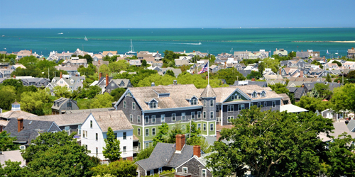 Aerial View May 2019 - The Nantucket Hotel & Resort - Nantucket, MA