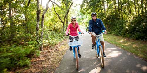 Biking Bike Trails Bicycling In Cape Cod Massachusetts