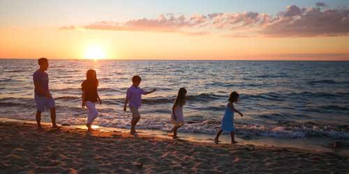 6f8d0a84a08 Kids on Beach Ocean Edge Resort   Golf Club Brewster Massachusetts