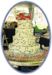 Wedding Cake - Publick House Historic Inn - Sturbridge, MA