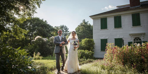 Wedding at Oliver Wight House - Old Sturbridge Inn & Reeder Cottages - Sturbridge, MA