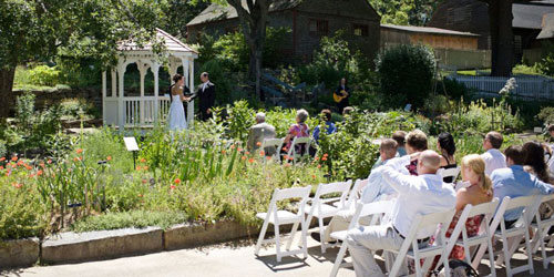 Garden Wedding - Old Sturbridge Village - Sturbridge, MA