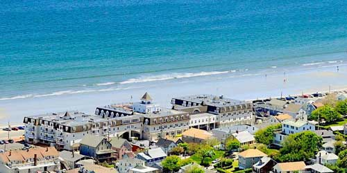 Nantasket Beach Resort Aerial Hull MA