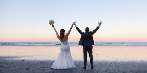 Nantasket Beach Resort Beach Wedding Hull MA