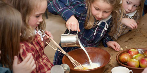 Kids Cooking - Old Sturbridge Village - Sturbridge, MA