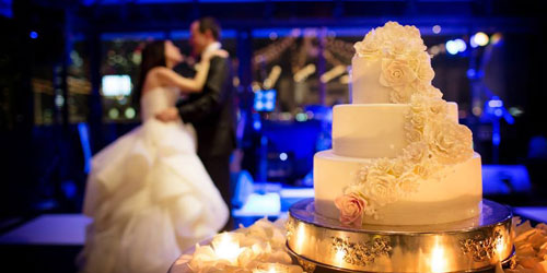 Wedding Dance & Cake - Taj Boston Hotel - Boston, MA - Photo Credit Person & Killian