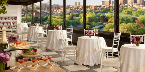Dining with a Great View - Taj Boston Hotel - Boston, MA