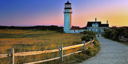 Highland Light on Cape Cod National Seashore