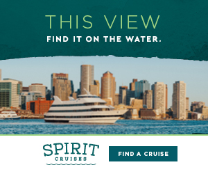 THIS VIEW - Find it on the water - Spirit Cruises of Boston. Click here to cruise!
