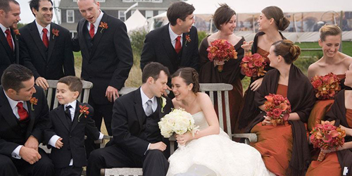 Wedding Party - The Wauwinet - Nantucket, MA