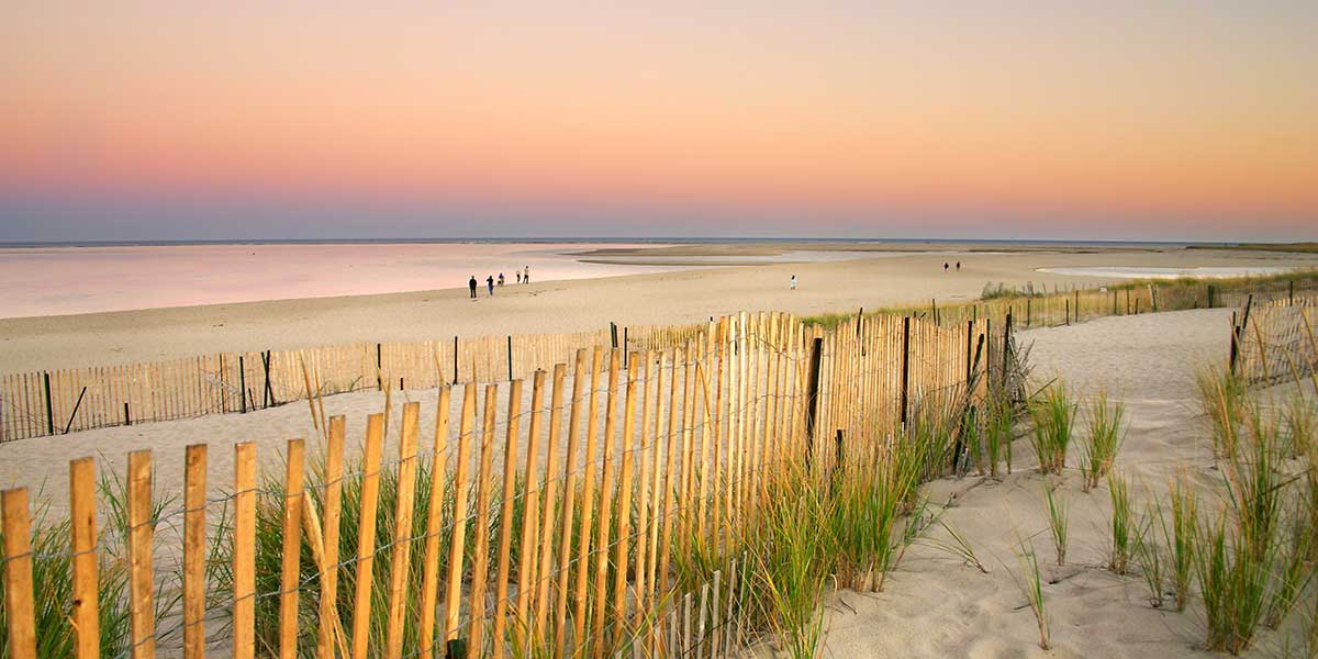 Cape Cod Dunes Beach Fence