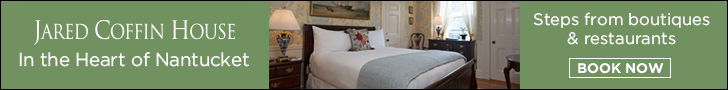 Jared Coffin House, in the Heart of Nantucket, MA - Click here to book now!