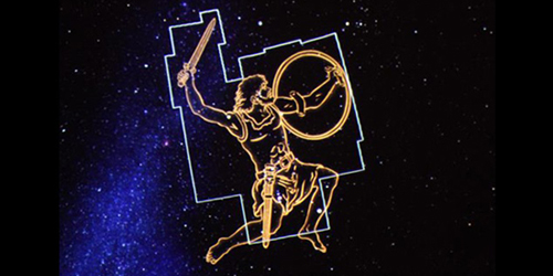Orion Outlined - Blake Planetarium - Plymouth, MA