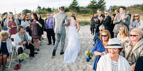 Beach Wedding - Cape Codder Resort & Spa - Hyannis, MA