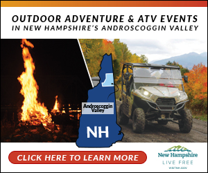 Your ATV Adventure Starts Here in Northern New Hampshire's Androscoggin Valley! Click Here to Escape!