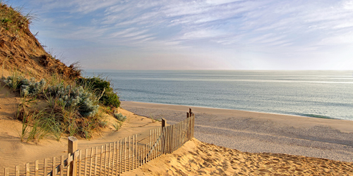 Longnook Beach in Truro - Cape Cod, MA