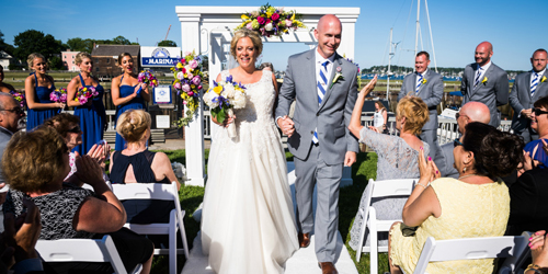 Harborside Wedding - Salem Waterfront Hotel - Salem, MA