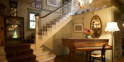 Staircase Landing - Red Lion Inn - Stockbridge, MA