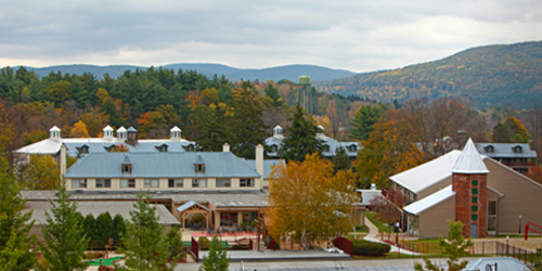 Outdoor Fall View - Oak & Spruce Resort - A Holiday Inn Club Vacations Getaway - Lee, MA
